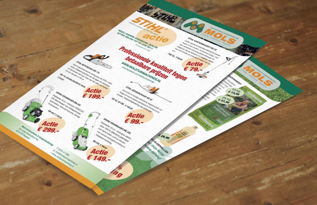 flyer, reclame, huis-aan-huis